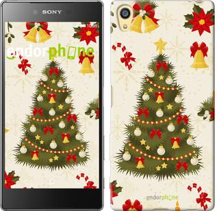 """Чехол на Sony Xperia Z5 Новогодняя елка """"4198c-274-571"""""""
