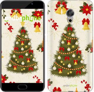 "Чехол на Meizu Pro 6 Plus Новогодняя елка ""4198u-678-571"""