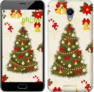 "Чехол на Meizu M5 Note Новогодняя елка ""4198c-447-571"""