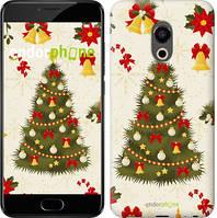 "Чехол на Meizu Pro 6 Новогодняя елка ""4198u-293-571"""