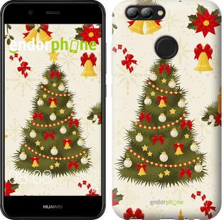"Чехол на Huawei Nova 2 Новогодняя елка ""4198c-1021-571"""