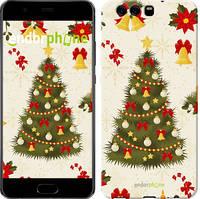 "Чехол на Huawei P10 Новогодняя елка ""4198c-780-571"""