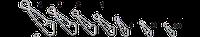 Застежка Gurza Hooked Snap SN4000 Ni №00 для рыбалки, рыболовные застежки Gurza, монтажная оснастка Gurza