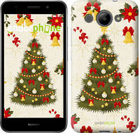 "Чехол на Huawei Y3 2017 Новогодняя елка ""4198c-991-571"""