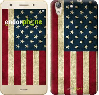 """Чехол на Huawei Y6 II Флаг США """"395c-338-571"""""""