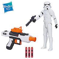 Бластер Штурмовика + фигурка 30 см в подарок Star Wars, Nerf, Hasbro, фото 1
