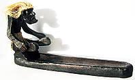 """Подставка под благовония """"папуас"""" (20 см) (индонезия)"""