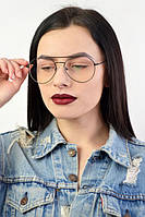 Имиджевые очки в тонкой оправе