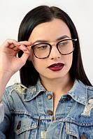 Имиджевые очки с бесцветной линзой