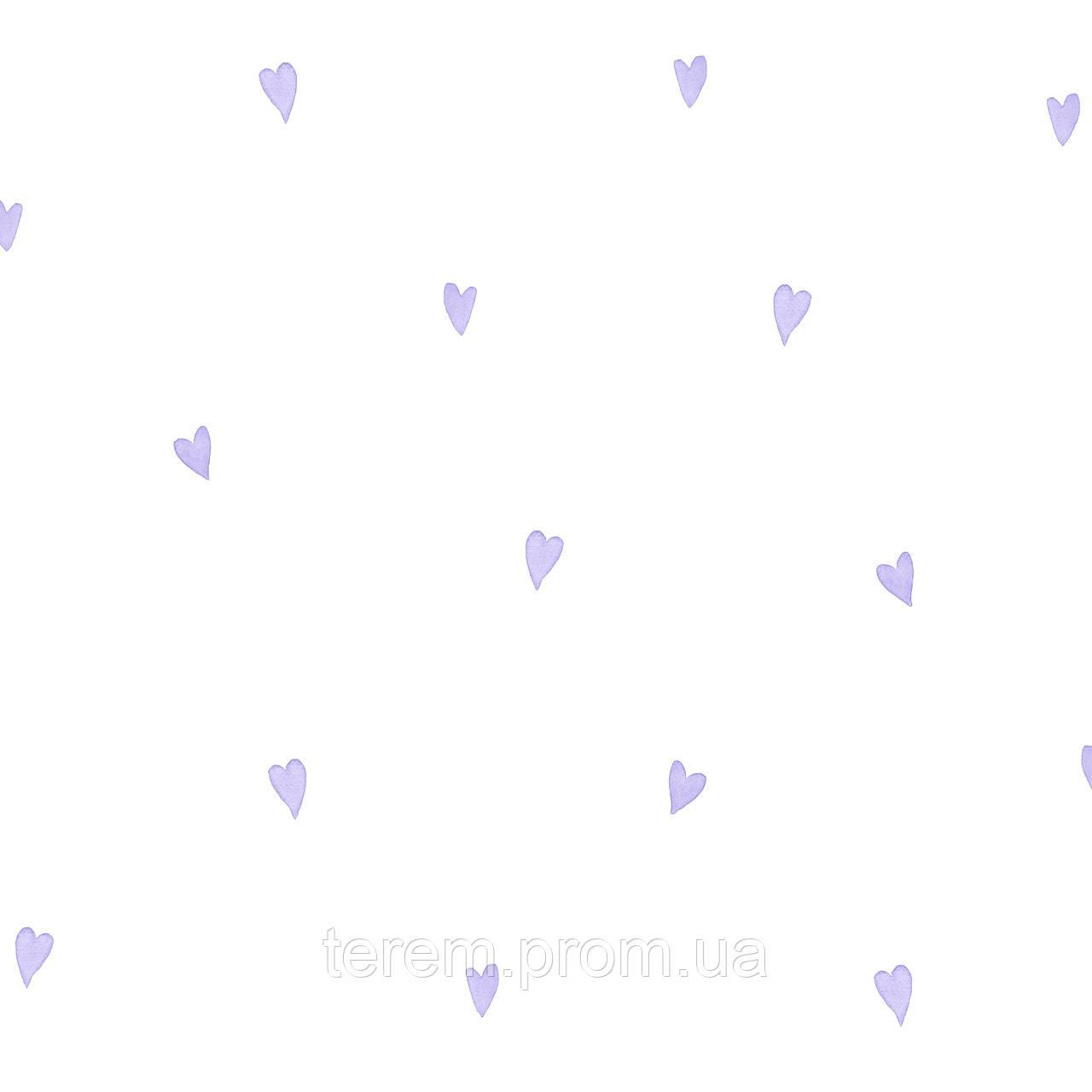 Love hearts Lilac