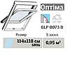 Мансардне вікно VELUX Оптіма ПВХ (нижня ручка, 114*118 см, вологостійке)