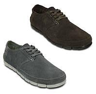 Туфли мужские замшевые Кроксы Стретч Сол оригинал / Crocs Men's Stretch Sole Desert Shoe, фото 1