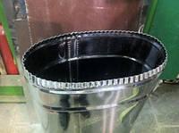 Овальные дымоходы  для гильзовки для имеющихся кирпичных дымоходов из нержавеющей стали
