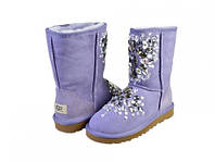 Женские сапоги UGG Classic Short Premium Exclusive violet