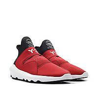 Мужские кроссовки Adidas Y-3 Suberou Red/Black/White РЕПЛИКА, фото 1