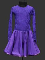 Рейтинговое платье (бейсик)  для девочки цвет любой под заказ.