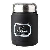 Термос для еды RONDELL RDS-942 Picnic Black 0.5 л (RDS-942)