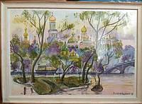 Картина акварелью на акварельной бумаге 60/40