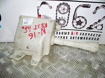 Бачок омывателя рест Nissan Almera (N16) 00-07 (Ниссан Алмера Н16)  28910BM415