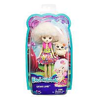 Enchantimals. Кукла с любимым питомцем, Лорна Барашка (FCG65-DVH87)