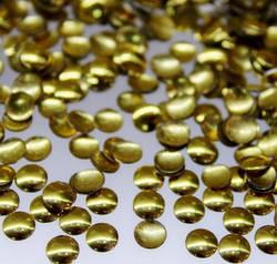 Металлостразы (золото) 3мм 100 шт