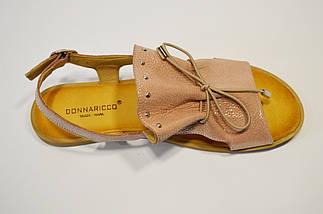 Босоножки со шнурками пудра Donna Ricco 8106, фото 2