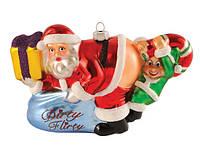 Елочная игрушка у Деда Мороза есть конфетка