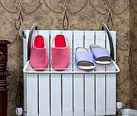 Сушилка для одежды и обуви на батарею