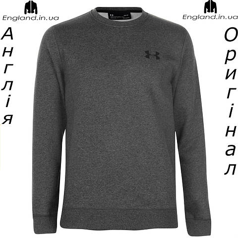 Толстовка Under Armour для тренеровок Rival Fitted | Толстовка Under Armour для тренувань Rival Fitted