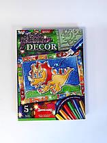 Витражи Glitter Decor: Динозаврик GD-01-02 Danko-Toys Украина