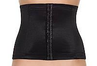 Жіночий корсет-пояс з еластичного полотна у чорному кольорі Lauma 06640