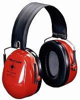 Наушники противошумовые мод. H520F-440-RD Стрелковые-2, красные, SNR-31дБ