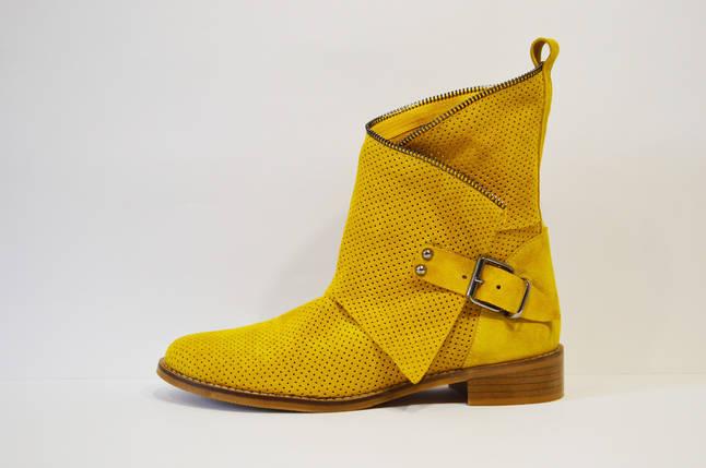 63bd99c6 Желтые замшевые ботинки Guero: продажа, цена в Александрии ...
