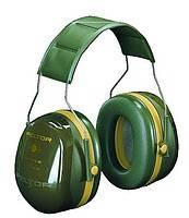 Наушники противошумовые мод. H540A-441-GN Стрелковые-3, зеленые SNR-35дБ