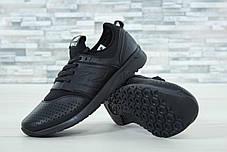 Мужские кроссовки New Balance 247 черные топ реплика, фото 2