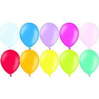 """Воздушные шары 12"""" (30 см) пастель ассорти 50 шт Belbal (Бельгия)"""