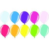 """Воздушные шары 12"""" (30 см) металлик ассорти 50 шт Belbal (Бельгия)"""