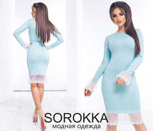 Платье с люрексом, фото 2