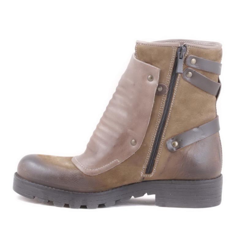 Ботинки нубуковые r0005