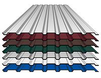 Профнастил C-15 с полимерным  покрытием (метал - Алчевск 0,45 мм)