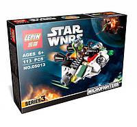 Конструктор  LEPIN STAR WARS, аналог LEGO 113 предметов Корабль призрак