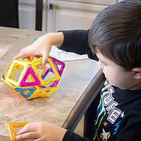 Детский магнитный конструктор 20 предметов