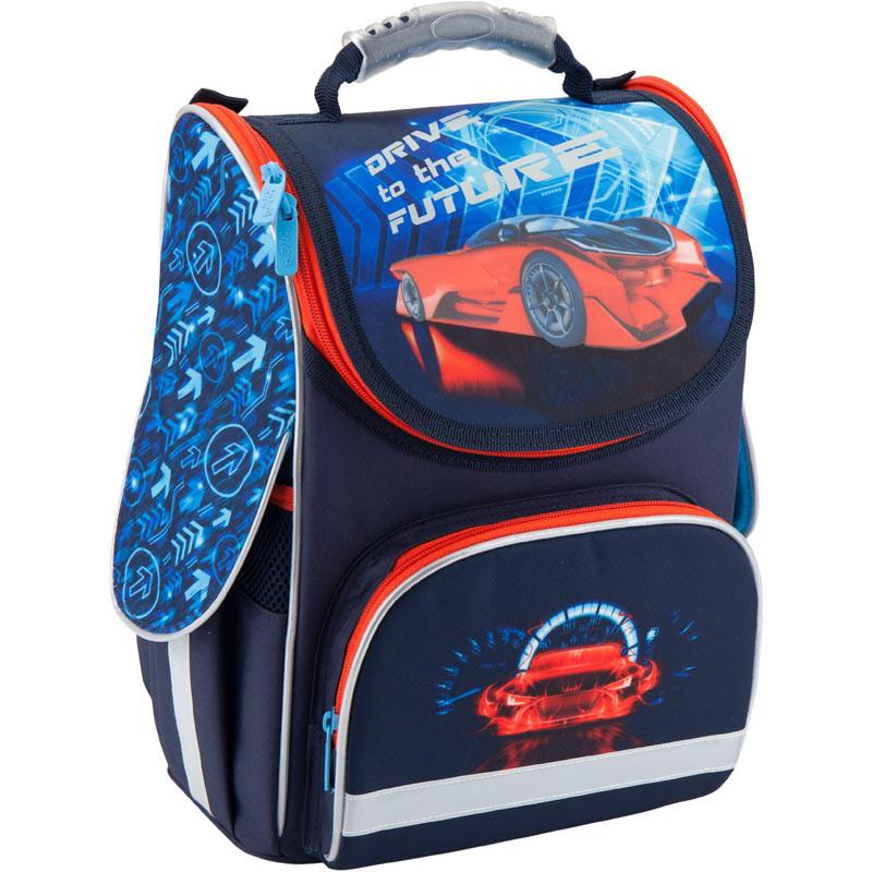Рюкзак школьный каркасный Kite 501 Super car K18-501S-5
