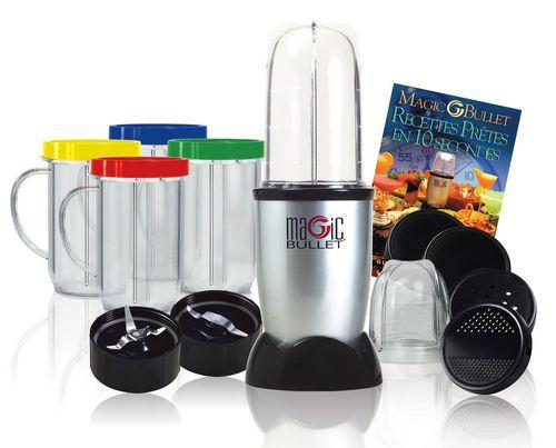 Кухонный комбайн Magic Bullet 600Вт Мэджик Буллет, кухонный комбайн 21 предмет