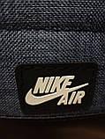 Рюкзак nike/SB Хорошее качество ткань катион матовый с кожаным дном спортивный городской стильный только ОПТ, фото 7