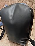 Рюкзак nike/SB Хорошее качество ткань катион матовый с кожаным дном спортивный городской стильный только ОПТ, фото 9