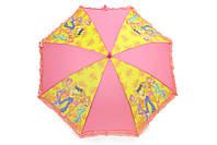 Интересный зонт с рюшами винкс
