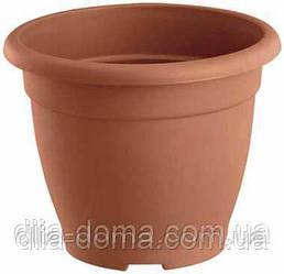 Горшок для цветов пластиковый, круглый, диаметр 31 см,2304