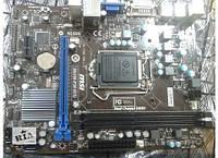 Материнская плата MSI H61M-P20 (G3) (s1155, Intel H61, PCI-Ex16)