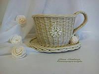 """Чашка плетеная """"Нежность"""", фото 1"""